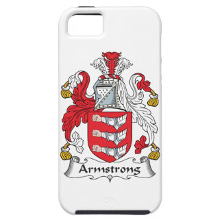 Armstrong Family Crest Tough iPhone 5 Case