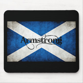 armstrong grunge flag mouse pad