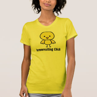 Armwrestling Chick T Shirt