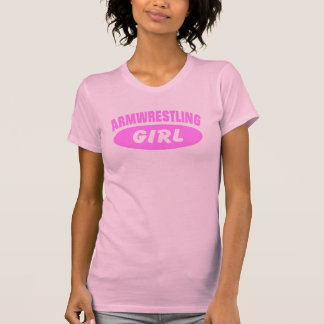 Armwrestling Girl Tshirts
