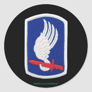 army 173rd vet scrapbooking military patch Sticker
