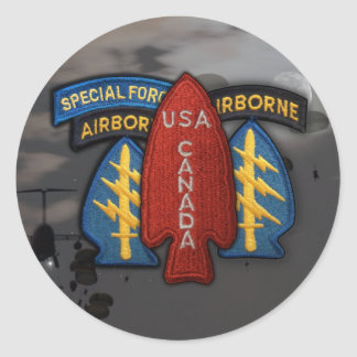 army 1st  special  service force ww2 patch Sticker