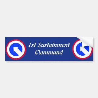Army 1st Sustainment Brigade Bumper Sticker