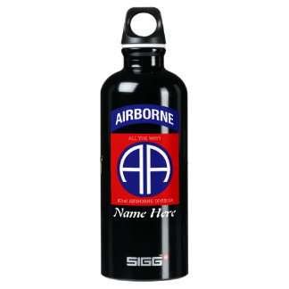 Army 82nd Airborne Division Water Bottle