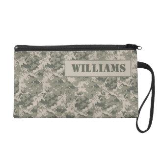 ARMY ACU Camoflauge Digital Wristlet Purse Wallet