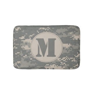 ARMY ACU Digital Camo Camouflage Pattern Bath Mat Bath Mats