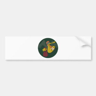 ARMY AIR CORPS 25th Troop Carrier Squadron Bumper Sticker