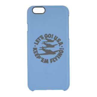 Army Air Corps Poster, 1941 Clear iPhone 6/6S Case