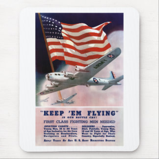 Army Air Corps Recruiting Poster Mouse Pad