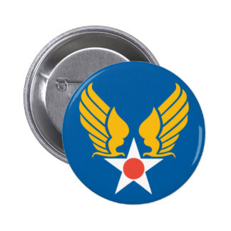 Army Air Corps Shield 6 Cm Round Badge