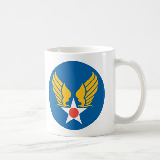 Army Air Corps Shield Basic White Mug