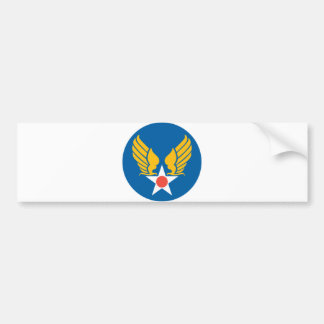 Army Air Corps Shield Bumper Sticker