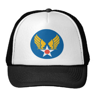 Army Air Corps Shield Mesh Hat