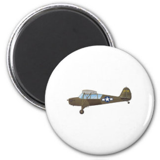 ARMY AIR FORCE 6 CM ROUND MAGNET