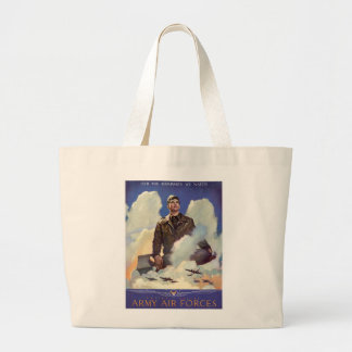 Army Air Forces Jumbo Tote Bag