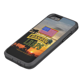 Army airborne rangers LRRPS veterans vets tab Tough Xtreme iPhone 6 Case