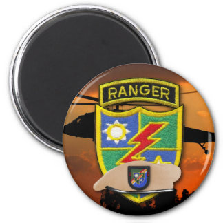 Army Airborne Rangers Veterans Vets LRRP Recon Magnet
