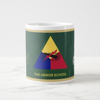 Army Armor School Jumbo Mug
