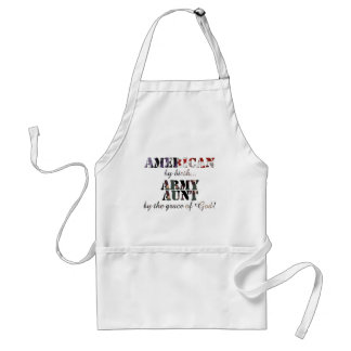 Army Aunt by Grace of God Standard Apron