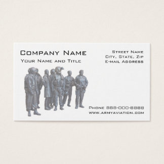 Army Aviators Military Business Card