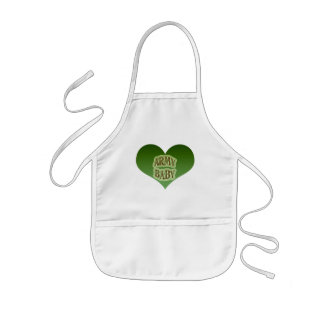 Army Baby Aprons
