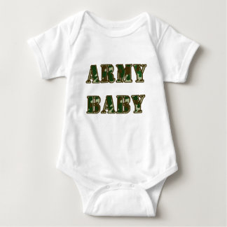 Army Baby Baby Bodysuit