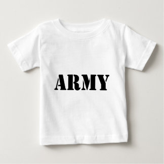 Army - Black Text Tee Shirts