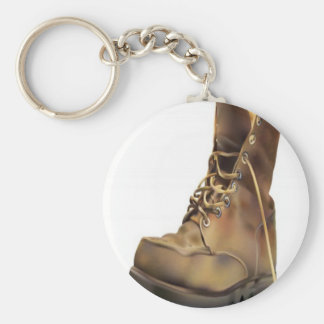 Army boot design key ring