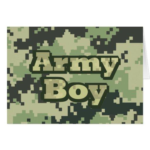 Army Boy Card