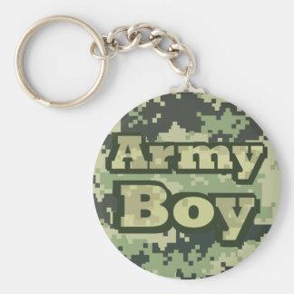 Army Boy Key Ring