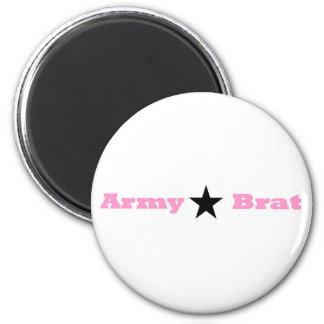 Army Brat Wear 6 Cm Round Magnet