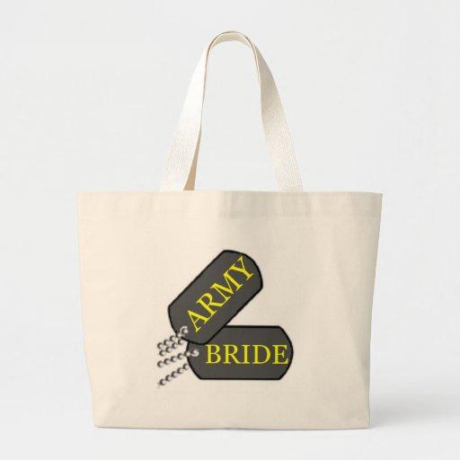 Army Bride 2 Canvas Bag