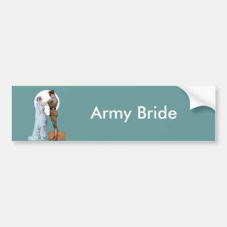 Army Bride Bumper Sticker