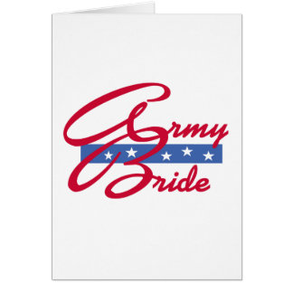 Army Bride T-shirts and Gifts Cards