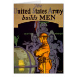 Army Builds MEN Greeting Card