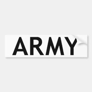 ARMY BUMPER STICKERS