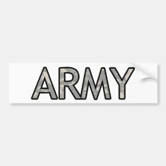 ARMY BUMPER STICKER