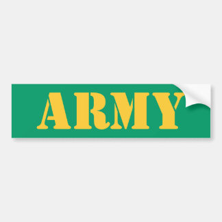 ARMY Bumpersticker Bumper Sticker