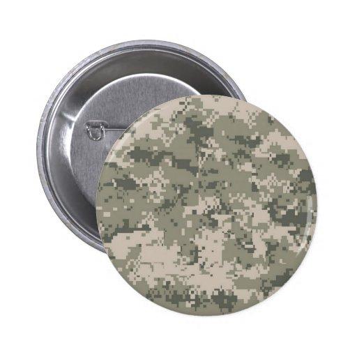 Army Camo Pins