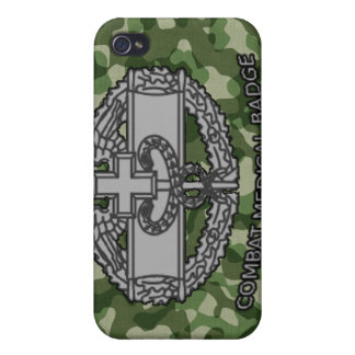 Army Camo Combat Medical Badge iPhone 4/4S Cover
