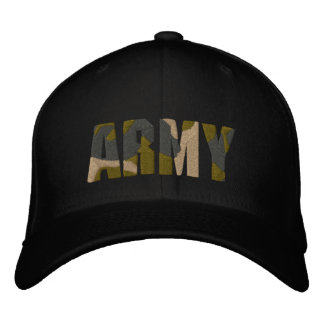 ARMY camo hat Embroidered Hat