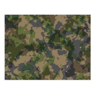 Army Camo Postcard