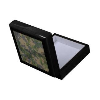Army Camo Small Square Gift Box