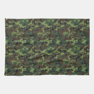 Army Camo Towel
