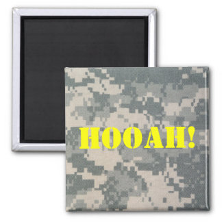 Army Camouflage ACU Pattern Square Magnet