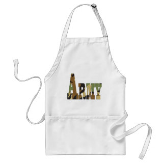 Army camouflage aprons