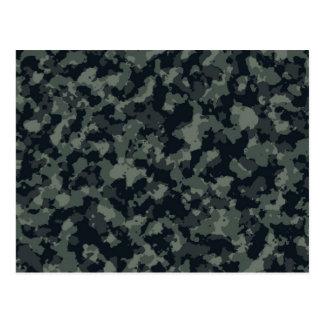 Army Camouflage Camo Design Postcard
