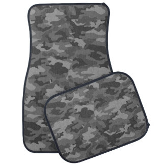 Army Camouflage Dark Gray Color Car Mats Floor Mat