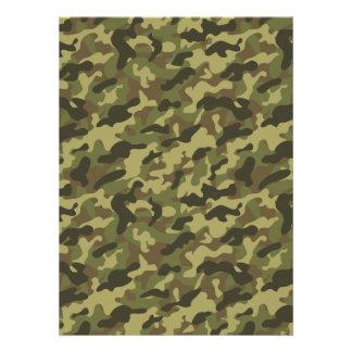 Army Camouflage Invitation