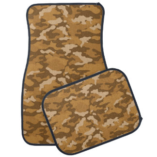 Army Camouflage Light Brown Color Car Mats Car Mat
